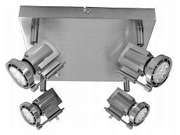 Lampa exia 14 halogen + led smd 28w 4000k 4x gu10