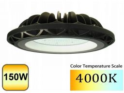 Lampa 15000lm ufo magazynowa ip65 led 150w 4500k