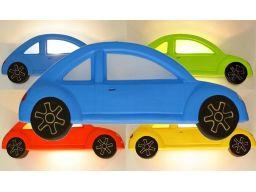 Samochód niebieski audi garbus smd led 230v e27 5w
