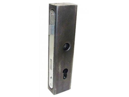 Zamek 60x40 kaseta wkładka puszka furtka bramy