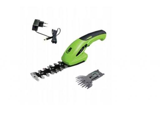 Podkaszarka + akumulatorowe nożyce gardenic