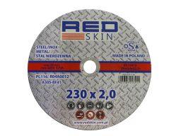 Tarcza do cięcia metalu stali red skin 230x2,0