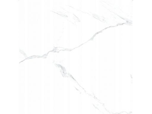 Gres carrara stone marmur 60x60 rekt poler gat. i