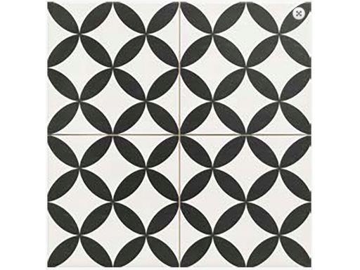 Płytki patchwork cirklus black 45x45 nowość gat. i