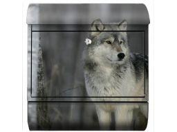 Skrzynka pocztowa na listy wilk duża nietypowa