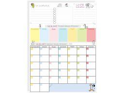Planer kalendarz tablicamagnetyczna na lodówkę xxl