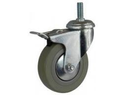 Koło kółka obrotowe fi75 trzpień i hamulec 70kg