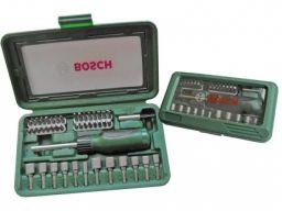 Bosch wkrętak z grzechotką z osprzętem x-line 46