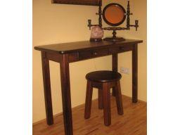 Toaletka stolik stół sosnowy biurko solidne trwałe