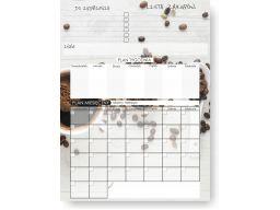 Kalendarz planer magnetyczny na lodówkę 60cm wzory