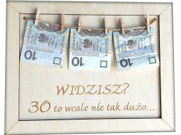 Życzenia prezent na okrągłe urodziny 30 40 50 | 60