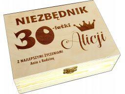 Pudełko prezent na 18 30 40 | 50 urodziny niezbędnik