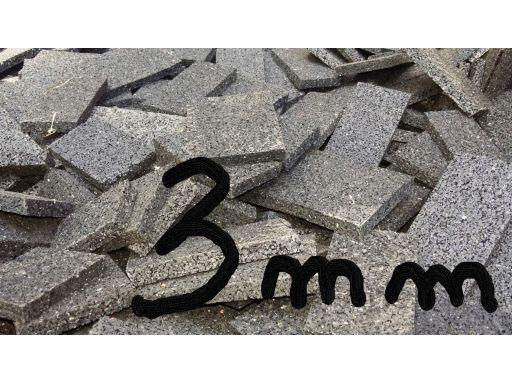 3 mm podkładki gumowe pod legary z odpadów 10 szt.