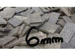 6 mm podkładki gumowe pod legary z odpadów 10 szt.