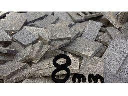 8 mm podkładki gumowe pod legary z odpadów 10 szt.