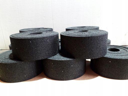 Podkładki pasy gumowe pod legary 1250x10x10mm
