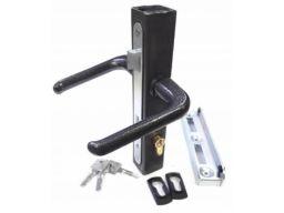 Kaseta z zamkiem 40x40 wkładka klamka opór zaczep
