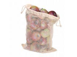 Eco torby bawełna na zakupy owoce warzywa 4 szt.