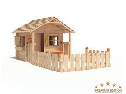 Colin castle niemiecki drewniany plac zabaw domek