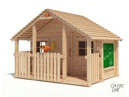Bobby bell niemiecki drewniany plac zabaw domek