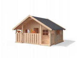 Holly home niemiecki drewniany plac zabaw domek