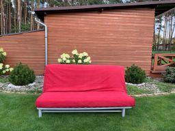 Ikea łużko sofa kanapa z funkcją spania 145/205