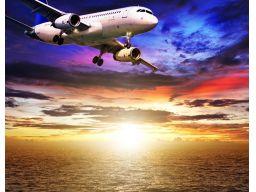 Fototapeta samolot i morze na wymiar grub.200g/m2