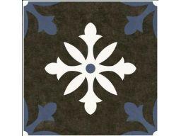 Płytki patchwork halcon liverpool black 33,3x33,3