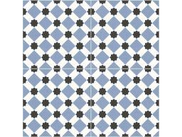 Płytki patchwork derby blue pre cut 45x45 nowość