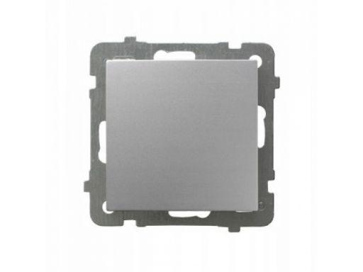 Ospel as łącznik jednobiegunowy srebro łp-1g/m/18