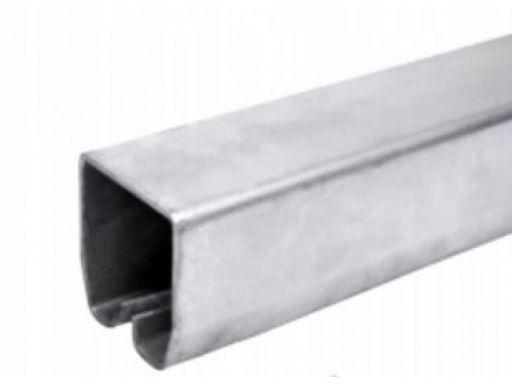 Szyna do bram podwieszanych 35x32mm - 2,9m ocynk